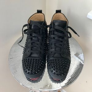Christian Louboutin Spiked Sneakers